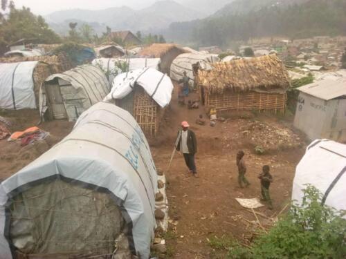 Minova unrecognized refugee camp